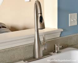 Moen Kiran Pull Down Faucet by How To Install A New Faucet Moen Kiran Faucet Installation