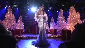 Rockefeller Christmas Tree Lighting Mariah Carey by Mariah Carey Christmas In Rockefeller Center 2012 Youtube