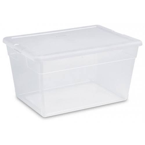 Sterilite Storage Box - 56 qt, Clear
