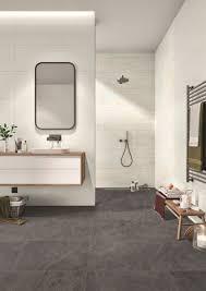 ein individueller bildschöner kontrast im badezimmer
