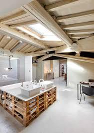 ilot cuisine palette étourdissant ilot cuisine palette avec meubles palettes en bois diy