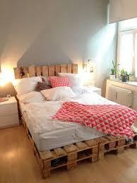 DIY pallet bed frame – fantastic bedroom furniture design ideas