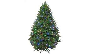Charlie Brown Christmas Tree Home Depot by Best Artificial Christmas Trees With Led Lights Hyper Habitat