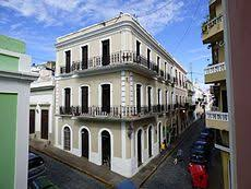 Spanish Style In Old San Juan Puerto Rico