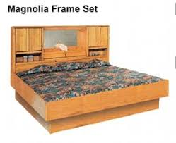 Queen Size Waterbed Headboards by Oak Magnolia Oak Waterbed Hardside Foundation Waterbed Base