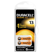 Longest Lasting Christmas Tree Uk by Duracell Size 13 Hearing Aid Batteries Pack Of 6 Amazon Co Uk