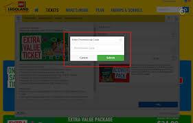 Legoland Promotional Code - Tesco Delivery Saver Code