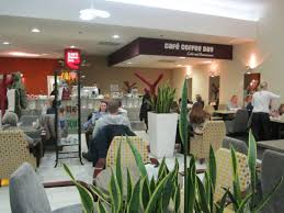 Cafe Coffee Day Emporio Interior Of The