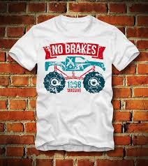 100 Monster Truck Shirts BOARDRIPPAZ T SHIRT MONSTER TRUCK 1968 RETRO VINTAGE RACING PICK UP
