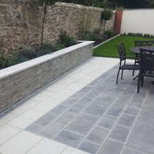 Kilkenny Blue Limestone Paving Flamed 600x300x30mm