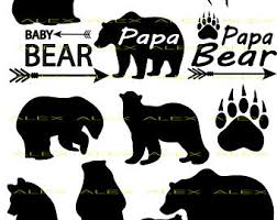 Bear Cub Clipart Papa Bear3060754