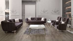 casa padrino luxus barock wohnzimmer set lila silber 2 sofas 2 sessel 1 couchtisch elegante wohnzimmer möbel im barockstil