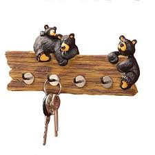 Decorative Key Holder For Wall by Big Sky Carvers Bear Key Holder Ebay