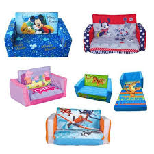 mickey mouse clubhouse flip open sofa with slumber bed