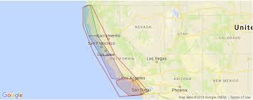 Surfing In California