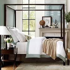 gibson canopy bed williams sonoma