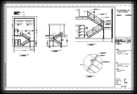 An AutoCAD Layout In Monochrome