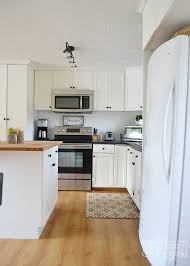 Our Guest Cottage Kitchen Budget Friendly Country Farmhouse Style