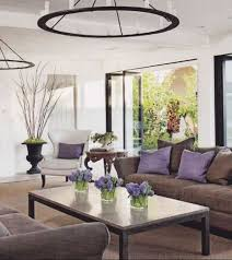 Brown Living Room Ideas Pinterest by Living Room With Lilac Accents Google Search Home Pinterest