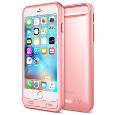 Atomic S Battery Case for iPhone 6 iPhone 6S 4 7 – Rose Gold