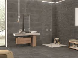 Indoor Outdoor Porcelain Stoneware Wall Floor Tiles LIMESTONE DARK By Ergon Emilgroup