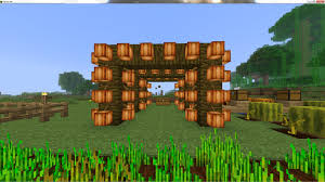 Minecraft Automatic Pumpkin Farm Xbox by Coco Bean Farming Method Survival Mode Minecraft Java Edition