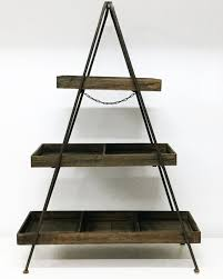 Rustic 3 Tier A Frame Cake Stand 1mt