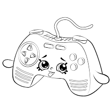 Remote Game Coloring Page