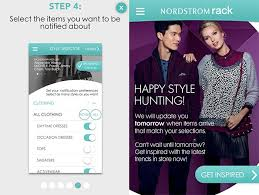 The Nordstrom Rack Alerts App