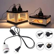 Reptile Heat Lamps Uk by E27 Reptile Ceramic Heat Lamp Holder Light Switch Socket Adapter