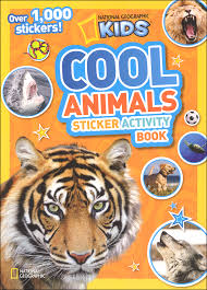National Geographic Kids Cool Animals Sticker Activity Book