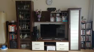 wohnzimmer in nussbaum creme in 50127 bergheim for 150 00