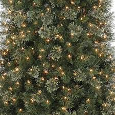 Prelit Artificial Christmas Tree Deluxe Cashmere Slim Quick Set Pre Lit