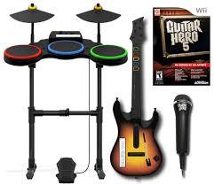 Smashing Pumpkins 1979 Tab by Nintendo Wii Guitar Hero 5 Band Set Kit W Drums Mic Guitar Video