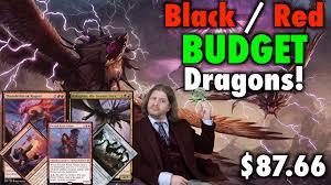 mtg standard b r dragons a budget deck tech for magic the