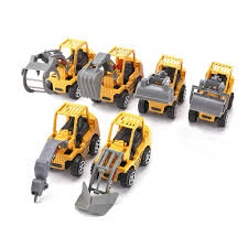 100 Toy Grain Trucks Online Shop 8 PCS Inertial Construction Machines Discast