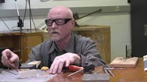 Decorative Sheet Metal Banding by Scoring And Bending Sheet Metal With Charles Lewton Brain