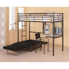 Coaster Contemporary Computer Desk by Coaster Furniture 2209 Twin Loft Bunk Bed With Chair And Desk