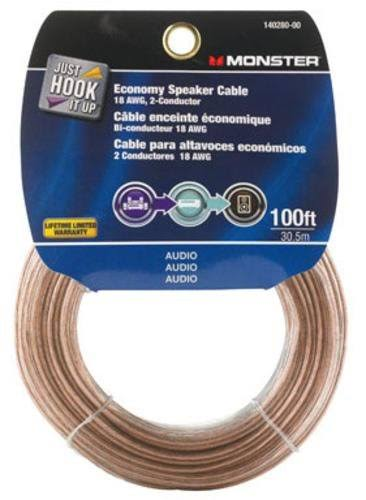 Monster Cable Speaker Wire Economy Grade - 100'