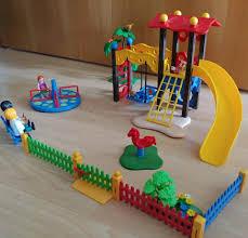 playmobil city spielplatz sehr gut erhalten