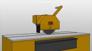 Ridgid Wet Tile Saw by How To Use A Tile Saw 6 Steps With Pictures Wikihow
