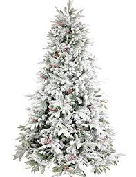 Snowy Dunhill Christmas Trees by Sparkling Christmas Tree