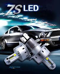 h4 led car headlight bulbs 40w 7000lm error free bright auto