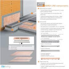 Perforated Drain Tile Sizes by Schluter Kerdi Shower Waterproof Sheet Membrane Tile Bathroom