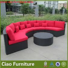Half Circle Outdoor Furniture by Superb Semi Circle Patio Furniture Excellent Ideas Semi Circle