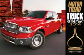2014 Ram 1500 Is Motor Trend's 2014 Truck Of The Year - Motor Trend
