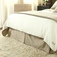 Bed Skirts Queen Walmart by Queen Bed Skirt Walmart Size With Split Corners White Bedskirt 21