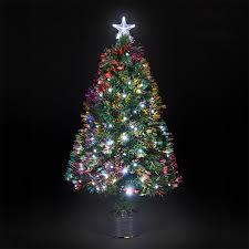 Mini Fiber Optic Christmas Tree Walmart by White Fiber Optic Christmas Trees Walmart Search Results