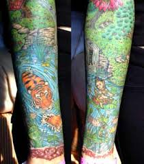 Color Sleeves By Larry Brogan Tattoos