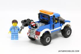 Lego City Tow Truck Station